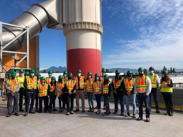 California Recycling Tour visits Surrey Biofuel